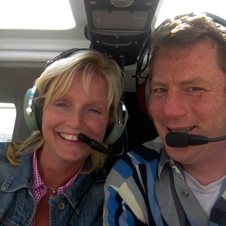 Marielle Sijgers vliegt met Jeroen Komen